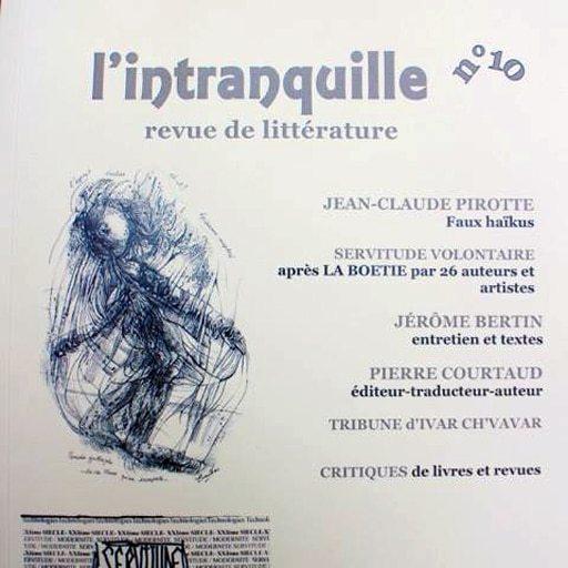 Florentine Rey - Revue l'Intranquille N°10