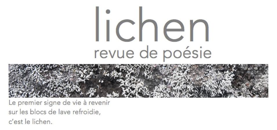 Revue lichen, numéro 09