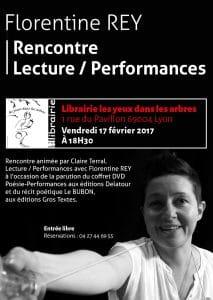 """Rencontre - Lecture - Performance à la librairie """"Les Yeux dans les arbres"""""""