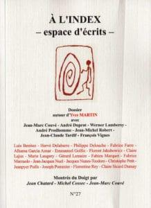 Florentine Rey, revue À L'Index N°27, novembre 2014