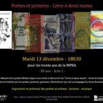 Exposition «poètes et peintres – Livres à deux mains»
