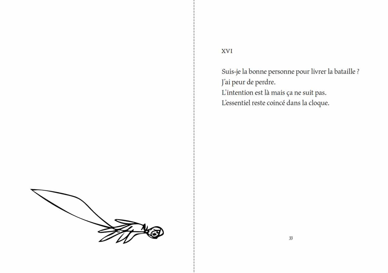 Florentine Rey, Parution du livre Le Bubon, pages 32-33