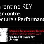 Lecture et Performances pour la sortie du DVD Poésie-Performances