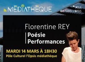 Pôle Culturel l'OPSIS - Florentine Rey - Une