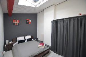 Écrire à Bordeaux - Une des chambres