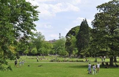 Écrire à Bordeaux - Jardin public