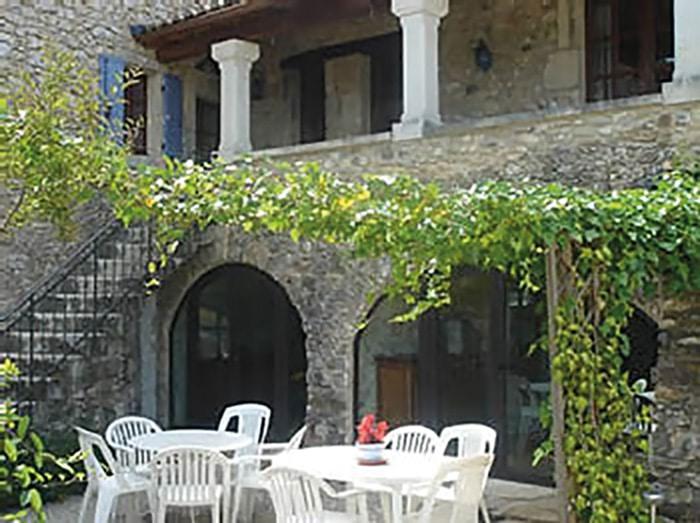 Stage écritures contemporaines dans les Cévennes - La terrasse