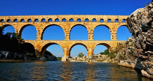 Stage écritures contemporaines dans les Cévennes - Le Pont du Gard