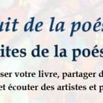 Nuit de la poésie à Grenoble