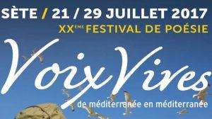 Atelier Prose Poétique Festival Voix Vives à Sète - Une