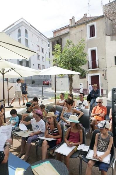 Atelier Prose Poétique Festival Voix Vives à Sète