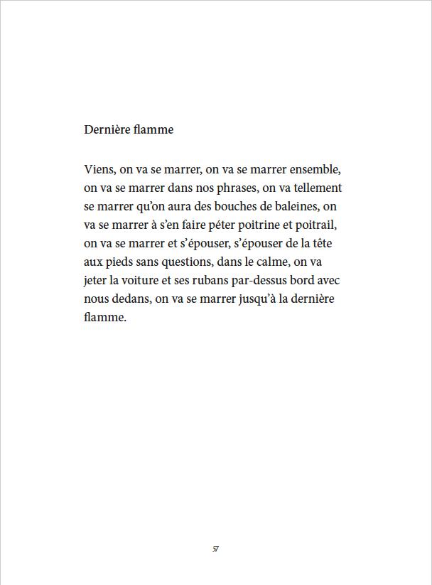 Je danse encore après minuit - Éditions Gros Textes - Dernière flamme
