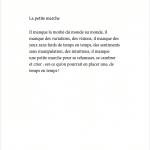 Je danse encore après minuit - Éditions Gros Textes - La petite marche