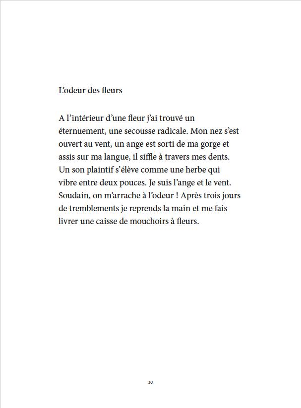 Je danse encore après minuit - Éditions Gros Textes - L'odeur des fleurs