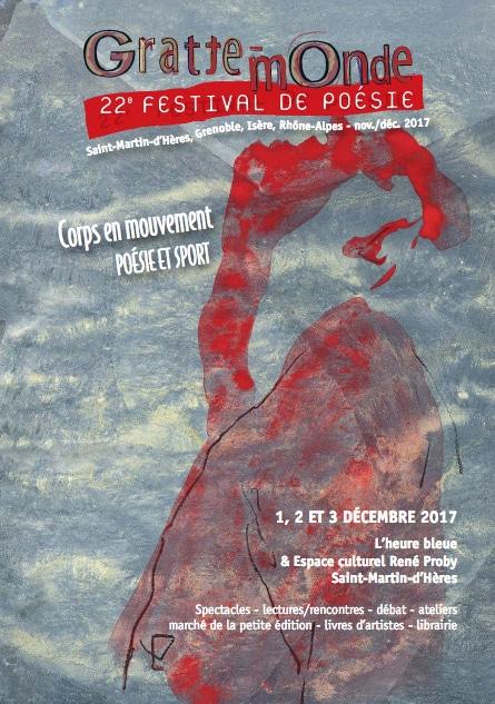 """""""Gratte-Monde"""" :22ème festival de poésie."""