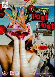 12ème édition des Journées Poët Poët du 16 au 18 mars 2018