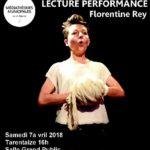 Lecture performances à la médiathèque de Saint-Etienne