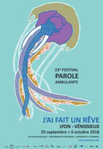 Affiche du festival Festival Parole Ambulante 2018