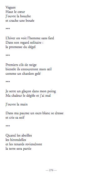 Nous, avec le poème comme seul courage - Climatique page 2