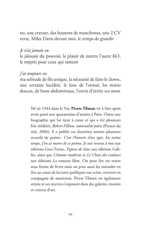 """Extrait du recueil """"Désir d'écrire ?"""" - Page 5"""