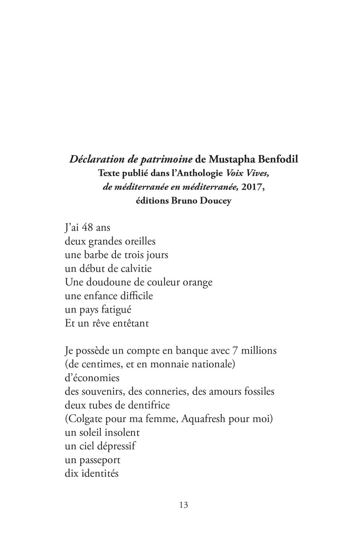 """Extrait du recueil """"Désir d'écrire ?"""" - Page 7"""