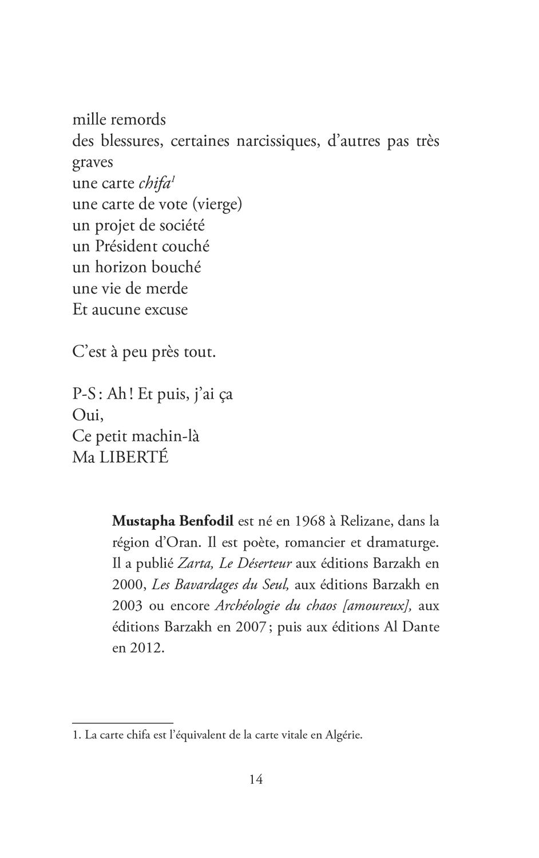 """Extrait du recueil """"Désir d'écrire ?"""" - Page 8"""