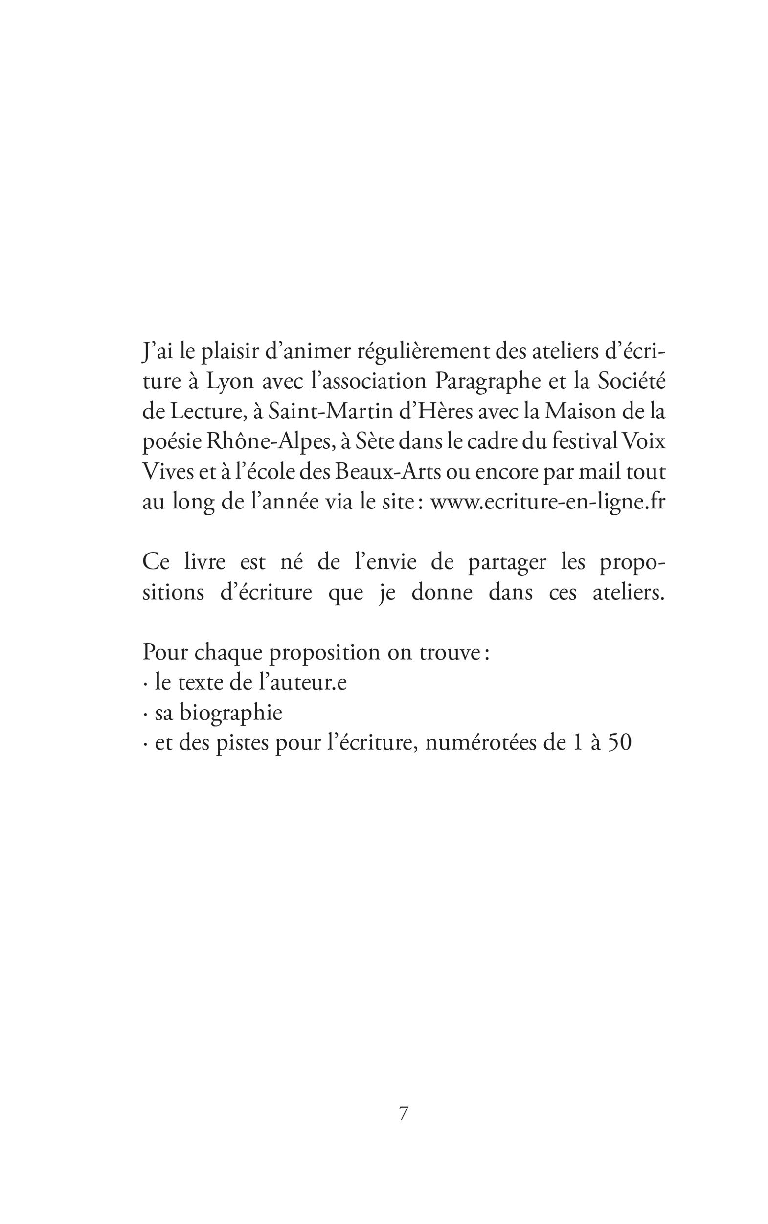 """Extrait du recueil """"Désir d'écrire ?"""" - Page 3"""