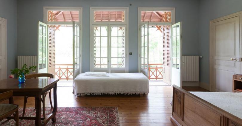 Une chambre dans le Moulin du Merle
